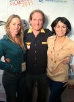 """Baracuda"" writer/producer/actor Christy Oldham with Nick & Hortencia, Burbank FF"